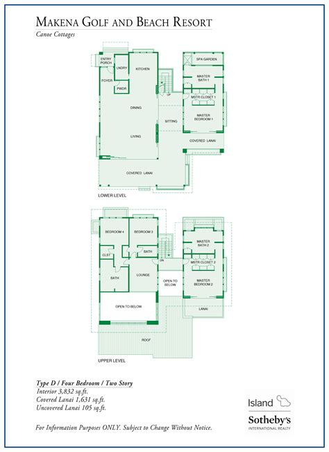 makena floor plan makena golf and beach resort real estate for sale