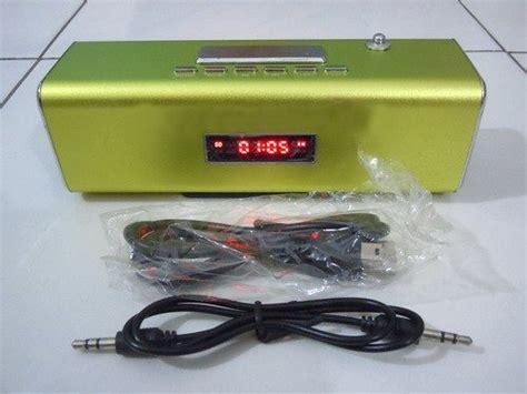 Mp3 Kecil mp3 player radio fm kecil dengan jam digital alarm