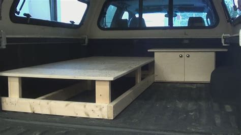 Truck Bed Sleeper Cers by Truck Canopy Sleeper Part One