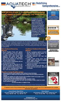 how to clean a pond without draining it how do you clean a stormwater management pond news