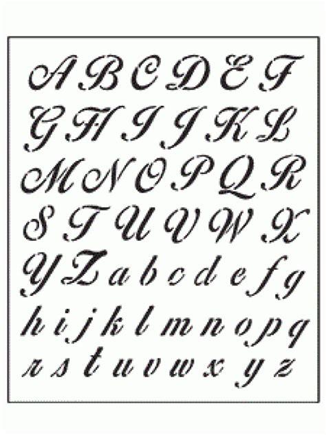 lettere corsivo alfabeto corsivo classico