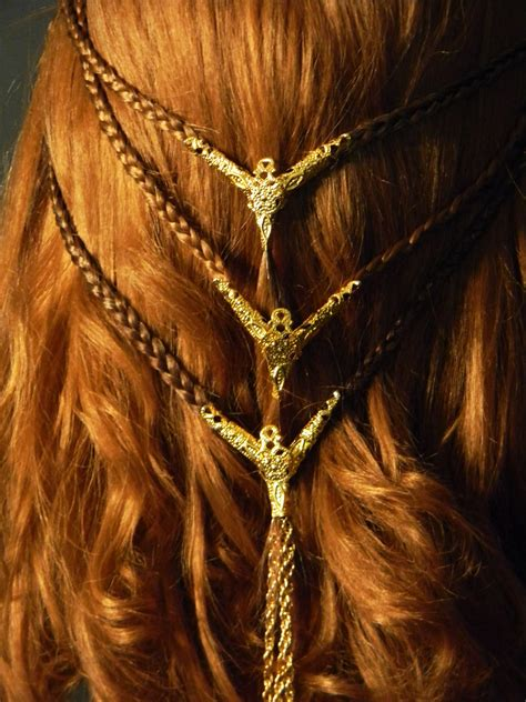 Celtic Hairstyles by Beautiful Celtic Braids Viking Celtic