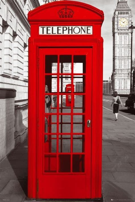 london phone booth london telephone box poster sold at europosters