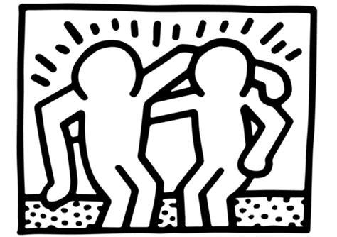 keith haring figure templates keith haring figure templates gallery free templates ideas