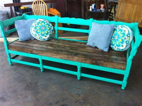 diy sofa bench repurposing old furniture into outdoor furniture antique