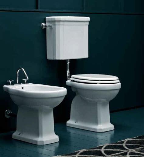 toilette mit fön giunone nostalgie bidet