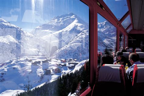 glacier express and bernina express switzerland travel