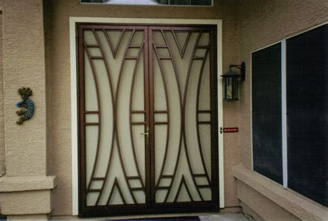 metal door designs security doors security door designs