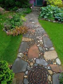 backyard landscaping ideas 15 magical diy pebble paths