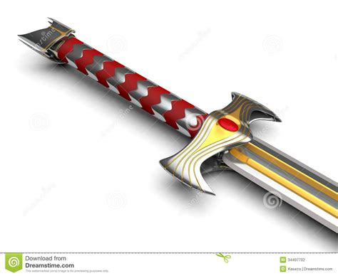 king s king s sword stock illustration image of mystic item