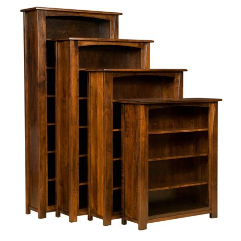 rustic bookcase doherty house