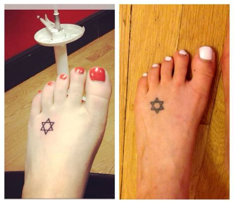 tattoo on arm after losing weight feet can lose weight too 90 lbs down my star of david