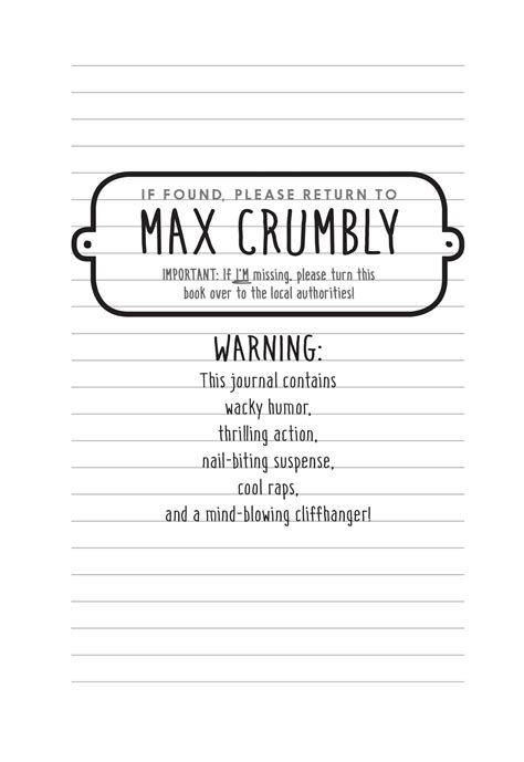max crumbly 1 el the misadventures of max crumbly 1 book by rachel ren 233 e russell official publisher page