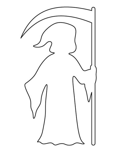 printable grim reaper pumpkin stencils grim reaper pattern use the printable outline for crafts