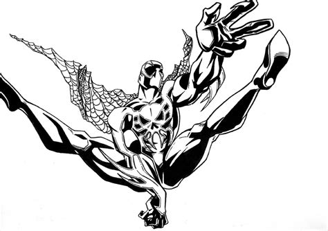 Spider 2099 Coloring Pages spider 2099 by ejimenez on deviantart