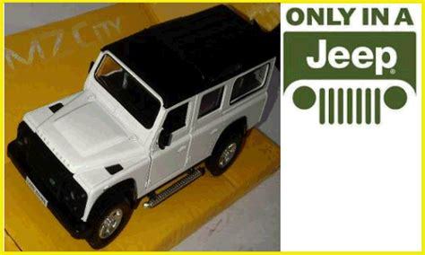 Land Rover Defender 1 32 Warna Hitam diecast only in a jeep djogja jual diecast khusus jeep