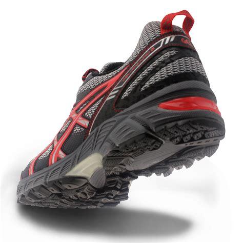 most cushioned running shoe asics mens gel enduro 9 grey cushioned trail running
