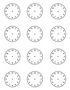 clock schedule template 15 best ideas about clock printable on