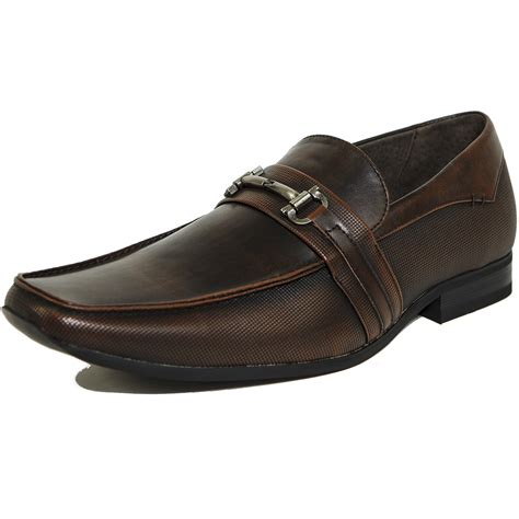 mens loafers with buckle alpine swiss stelvio mens buckle loafers slip on tapered