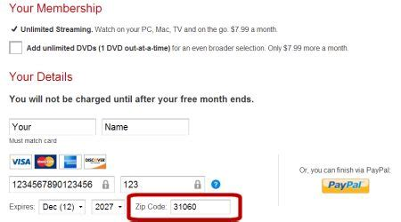 How To Pay For Netflix With Gift Card - how to sign up for a us netflix trial the vpn guru