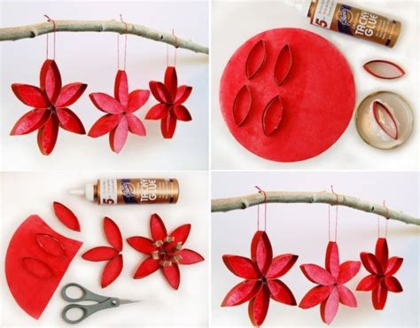 paper christmas decorations to make at home inexpensive diy christmas ornaments to make at home