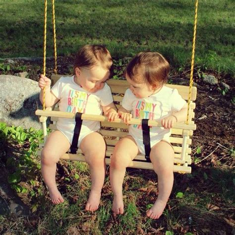 child rope swing rope tree swing for two toddlers children twin gift