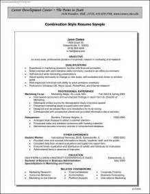 business resume template word business resume sles free