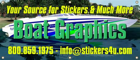 installing boat decals boat graphics boat decal kits and boat lettering