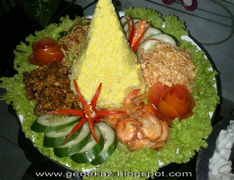 master chef makna nasi tumpeng