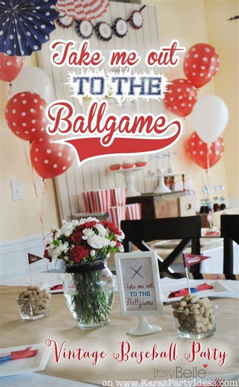 baseball themed birthday party 79th birthday boy vintage baseball party planning ideas