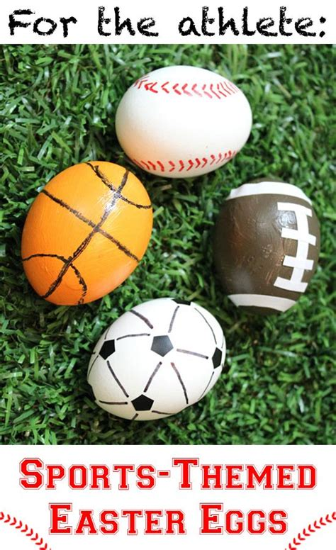 sports easter eggs sports easter eggs and eggs on