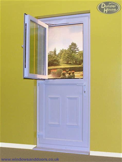 Exterior Door With Opening Window Upvc Stable Doors Upvc Glazed Stable Doors Dunster House