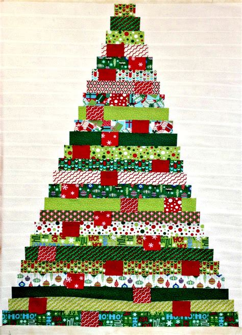 christmas tree farm mini quilt 12 x 18 tutorial by debbie