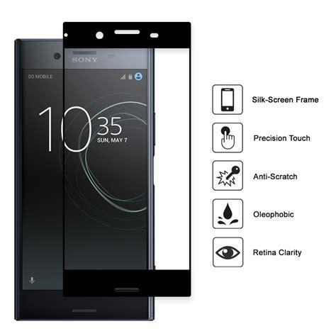 Tempered Glass Sony Xperia Xz Premium black tempered glass screen protector sony xperia xz premium
