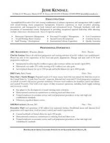 chef resume template student resume template