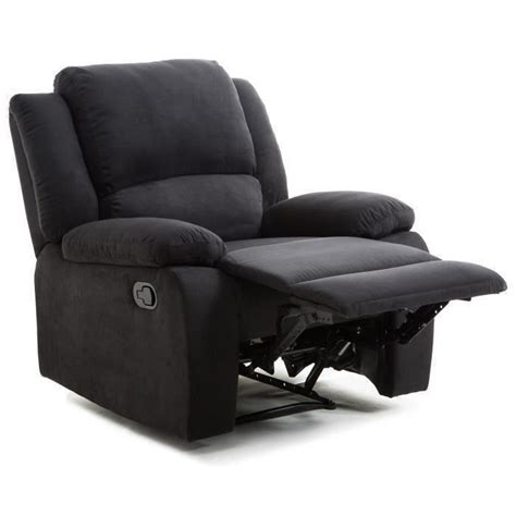 fauteuil relax a but relax fauteuil relaxation tissu noir style