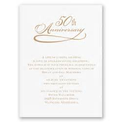 classic 50th anniversary invitation invitations by