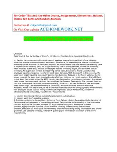 acct 504 case study 2 assignment by acehome.net issuu