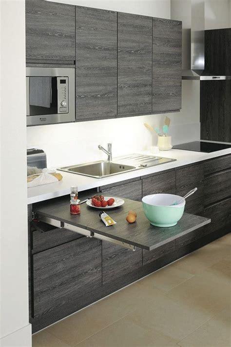 cuisine pur馥 table extractible dissimul 233 e 1 m 232 tre de longueur cuisine