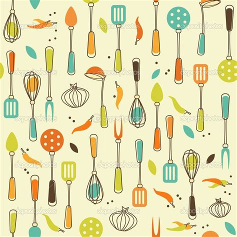 kitchen pattern background retro kitchen wallpaper icontrall for