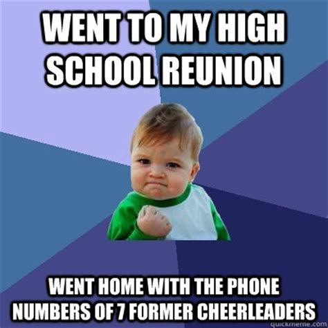 Highschool Memes - it s high school reunion meme time varsity reunions