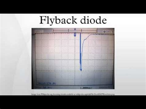 what is a catch diode flyback diode