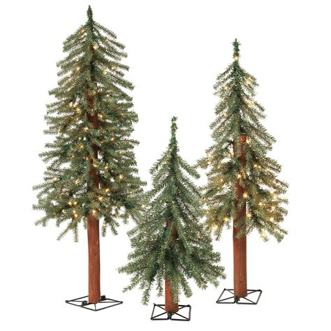 sterling christmas tree lights sterling 2 ft 3 ft and 4 ft pre lit alpine artificial