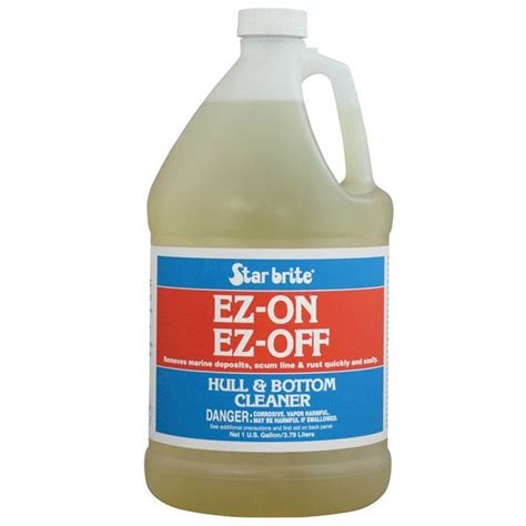 on off boat cleaner star brite ez on ez off hull cleaner gallon west marine