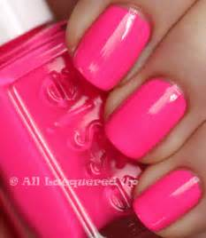 pink nail colors shades of nail on