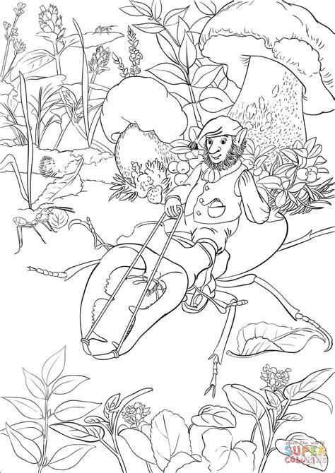 leprechaun coloring page leprechaun is a beetle coloring page free
