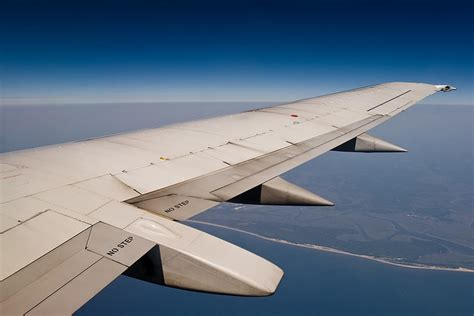 Plane Wings aircraft wings view photography