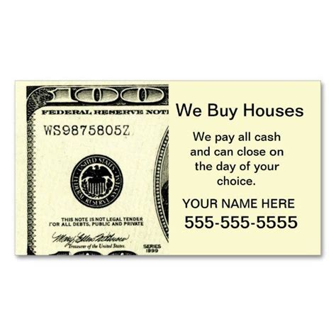We Buy Houses Business Card Templates by Best Business Cards In Nyc Images Card Design And Card