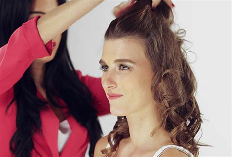Pictures Puff Hairstyle Pics Step By Step Black   puff hair style diy step by step pictures puff hairstyles