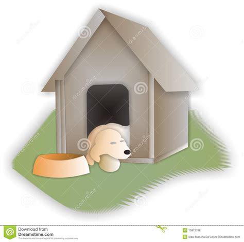 sleeping dogs house sleeping retriever in his dog house royalty free stock photos image 10872788